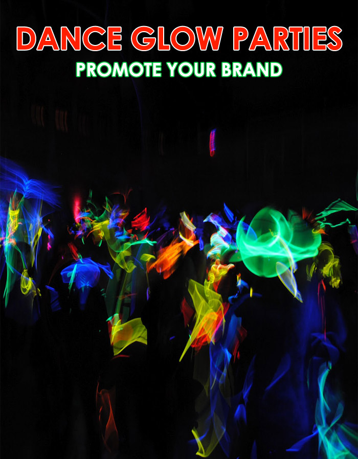Dance Glow Party Lights for Parties - LED