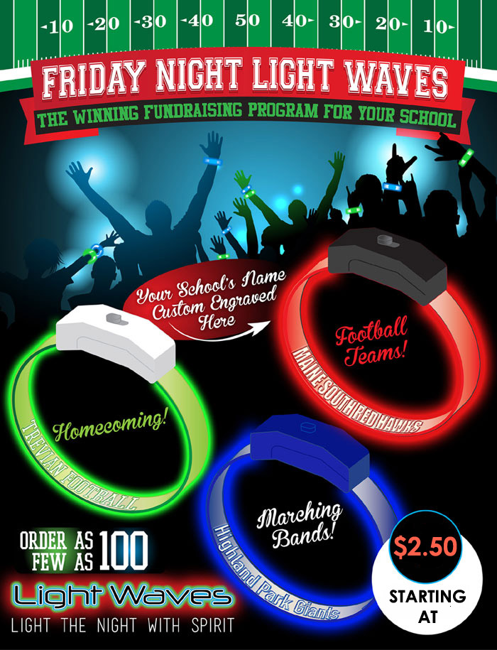 Glow in the dark party - LED Glow Bracelets