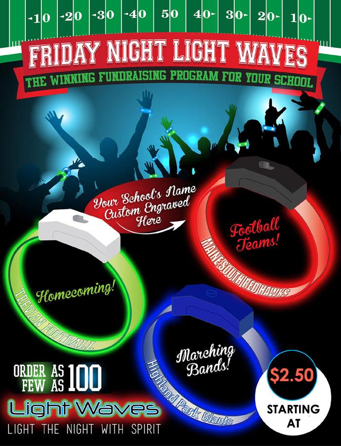 Glow in the dark party - LED Glow Bracelets