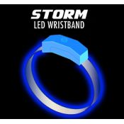 Blue / Light Blue - Storm LED Wristband