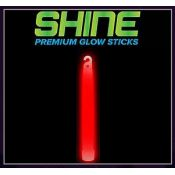 Premium Shine Bright - Red Glow Stick