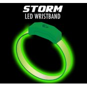 Green / Green - Storm LED Wristband