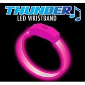 Pink - Pink Thunder Sound Activated Motion Bracelet