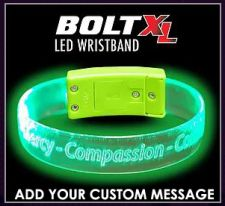 Bolt XL - LED Custom Light Up Wristband Bracelets
