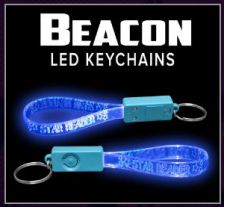 Beacon Custom LED Key Chains