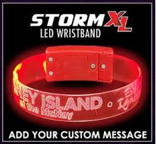 Storm XL - LED Custom Light Up Glow Wristbands