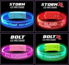 Custom LED Light Up Glow Bracelets