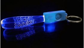 Blue / Light Blue - Beacon Custom LED Key Chain